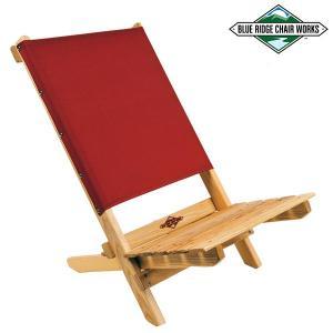 Blue Ridge Chair Works ブルーリッジチェアワークス フェスティバルチェア With ボトルオープナー レッド 送料無料|aandfshop