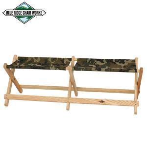 Blue Ridge Chair Works ブルーリッジチェアワークス ボイジャーベンチ グリーンカモ 送料無料 チェア 二人掛け|aandfshop
