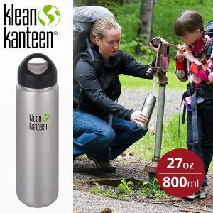 クリーンカンティーン Klean Kanteen カンティーンボトル ワイド 27oz 800ml マイボトル|aandfshop
