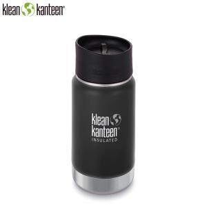 クリーンカンティーン Klean Kanteen ワイドインスレート CAFE12oz355ml シェールブラック マイボトル SALE|aandfshop
