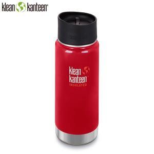 クリーンカンティーン Klean Kanteen ワイドインスレート CAFE16oz473ml ミネラルレッド マイボトル SALE|aandfshop