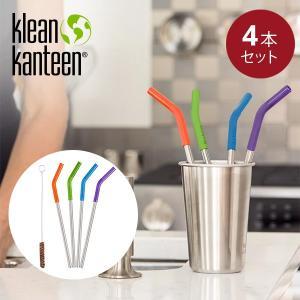 クリーンカンティーン Klean Kanteen カンティーン ストロー4本セット カラー|aandfshop