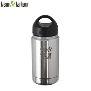 クリーンカンティーン Klean Kanteen ワイドインスレート ループ12oz355ml ミラー|aandfshop
