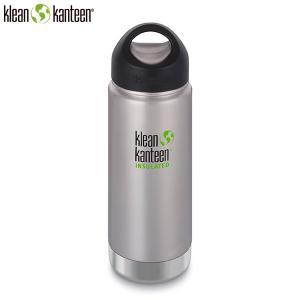 クリーンカンティーン Klean Kanteen ワイドインスレート ループ16oz473ml ステンレス マイボトル SALE|aandfshop
