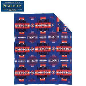 ペンドルトン PENDLETON チーフジョセフブランケット ZD411 サファイア 51110 送料無料 日本正規商品|aandfshop