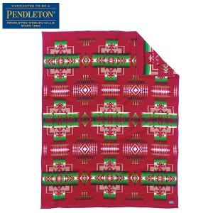 ペンドルトン PENDLETON チーフジョセフブランケット カーディナル ZD411-51119 送料無料 日本正規商品|aandfshop