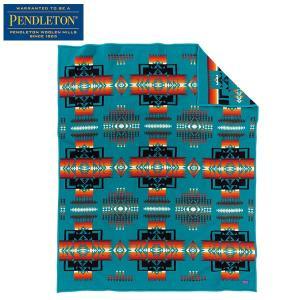 ペンドルトン PENDLETON チーフジョセフブランケット ターコイズ ZD411-51124 送料無料 日本正規商品|aandfshop