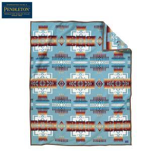 ペンドルトン PENDLETON チーフジョセフブランケット ZD411 アクア 51128 送料無料 日本正規販売店商品|aandfshop
