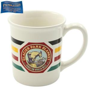 ペンドルトン PENDLETON ナショナルパークマグカップ グレーシャーパーク ホワイト 日本正規販売店商品 aandfshop