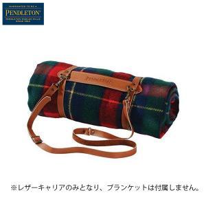ペンドルトン PENDLETON レザーキャリア ブラウン 日本正規商品|aandfshop
