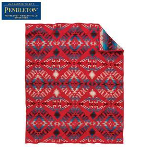 ペンドルトン PENDLETON サンダーアンドアースクエイクコレクション ブランケット スカーレット ZD404-53081 送料無料 日本正規商品|aandfshop