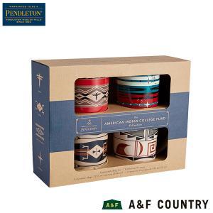 ペンドルトン コーヒーマグセット アメリカンインディアンカレッジファンド XK873 PENDLETON 日本正規商品 aandfshop