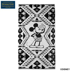 ペンドルトン PENDLETON ジャガードバスタオル フィーチャリング ミッキーマウス ミッキーソリュート XK235 日本正規商品 aandfshop