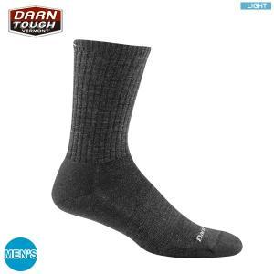DARN TOUGH ダーンタフ メンズ 1680 スタンダード クルー ライトはクルータイプの靴下...