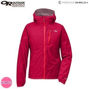 アウトドアリサーチ OUTDOOR RESEARCH Ws ヘリウムIIジャケット スカーレット 女性用 レディース 送料無料|aandfshop