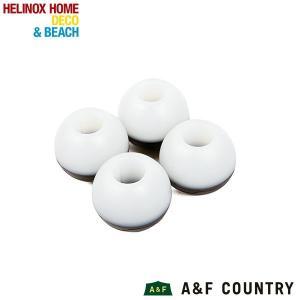 ヘリノックス Helinox ボールフィート 4個セット Lサイズ サンセット、スウィベルチェア、チェアホームXL用 ホワイト 【日本正規商品】|aandfshop