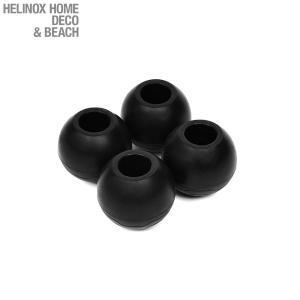 ヘリノックス Helinox ボールフィート 4個セット Sサイズ コンフォートチェア/タクティカルチェア用 ブラック 【日本正規商品】 aandfshop