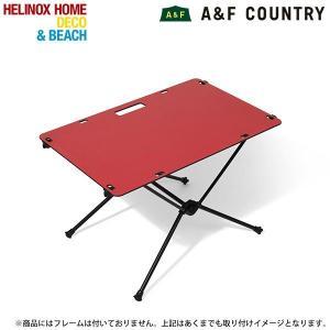 ヘリノックス Helinox ワークトップホーム レッド テーブル 机 【日本正規商品】|aandfshop