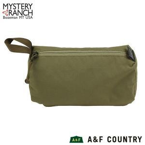 MYSTERYRANCH ミステリーランチ ゾイドバッグはマチがあり見た目以上の収納力があるアクセサ...