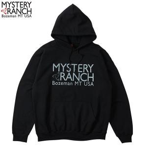 MYSTERYRANCH ミステリーランチ クラシックロゴパーカ ブラック|aandfshop