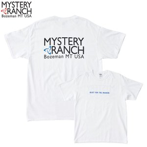 ミステリーランチ Ms カラードスピナーTシャツ ホワイト/ブルー MYSTERYRANCH 【日本正規商品】|aandfshop