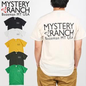 ミステリーランチ ビルトフォーザミッション Tシャツ MYSTERYRANCH 日本正規商品 aandfshop