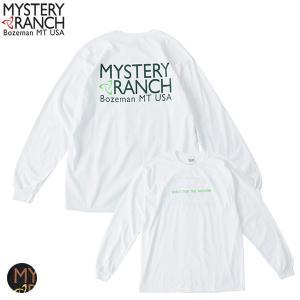 ミステリーランチ メンズ カラードスピナーロングスリーブTシャツ MYSTERY RANCH 日本正規商品 aandfshop