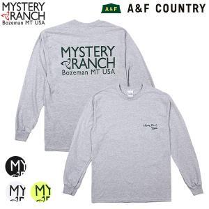 ミステリーランチ メンズ ハブファンロングスリーブTシャツ MYSTERY RANCH 日本正規商品 aandfshop