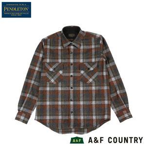 ペンドルトン PENDLETON ガイドシャツ ジャパンフィット HA438 ラストビーチボーイ 送料無料 ウール製品 日本正規商品|aandfshop
