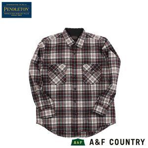 ペンドルトン PENDLETON ガイドシャツ ジャパンフィット HA438 ホワイトラストプレイド 31954 送料無料 ウール製品 日本正規販売店商品|aandfshop