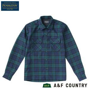 ペンドルトン PENDLETON ボードシャツ ジャパンフィット AA417 ブラックウォッチタータン 30069 送料無料 ウール製品 日本正規商品|aandfshop