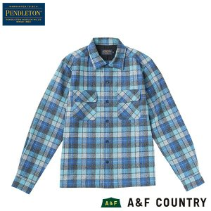 ペンドルトン PENDLETON ボードシャツ ジャパンフィット AA417 ブルーオリジナルサーフPL 30789 送料無料 ウール製品 日本正規商品|aandfshop