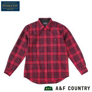 ペンドルトン PENDLETON ニューパウパインシャツ ジャパンフィット AA420 マクラーレンタータン 31959 送料無料 ウール製品 日本正規商品|aandfshop