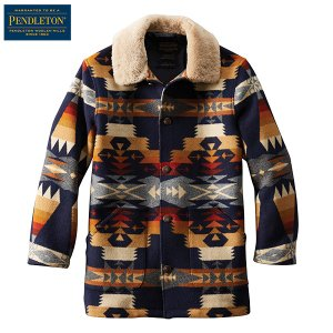 ペンドルトン PENDLETON  ブラウンズビルシアリングコート DK550 ツーソンブルー 15959 日本正規商品|aandfshop