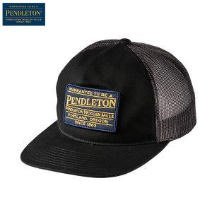 ペンドルトン PENDLETON ラージ パッチトラッカー GM112 ブラック 54591 日本正規商品|aandfshop