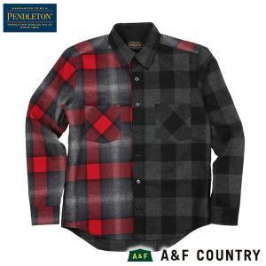 ペンドルトン メンズ ニューアーバンパイオニアシャツ ジャパンフィット RC400 ブラック PENDLETON 日本正規商品 aandfshop