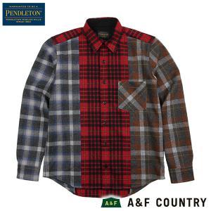 ペンドルトン メンズ ニュークレイジーシャツ ジャパンフィット RC401 レッド PENDLETON 日本正規商品 aandfshop