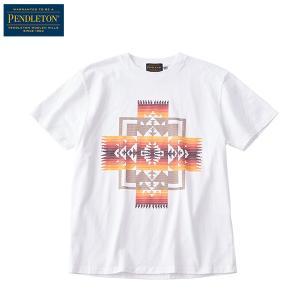 ペンドルトン PENDLETON Ms ショートスリーブチーフジョセフTシャツ ホワイト|aandfshop