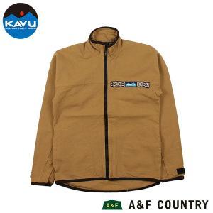 カブー KAVU Ms 10oz スローシャツ フルジップ カーキ 送料無料|aandfshop