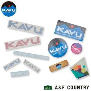 カブー KAVU ステッカーパック aandfshop
