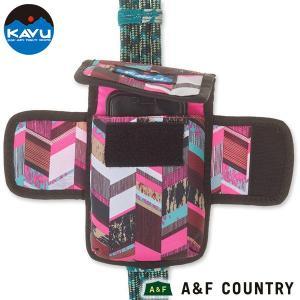 KAVU カブー フォーンブースはロープコレクションの各種バッグのストラップ部分に取り付けることがで...
