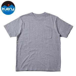 カブー KAVU Ms ポケットT グレー  SALE|aandfshop