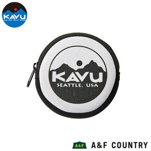 カブー KAVU サークルコインケース ホワイト|aandfshop