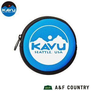 カブー KAVU サークルコインケース ブルー|aandfshop