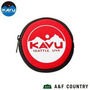 カブー KAVU サークルコインケース レッド|aandfshop