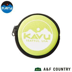 カブー KAVU サークルコインケース イエロー|aandfshop