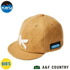 カブー KAVU キッズ ベースボールキャップ (ウール) ベージュ 帽子 キャップ 子供用 aandfshop