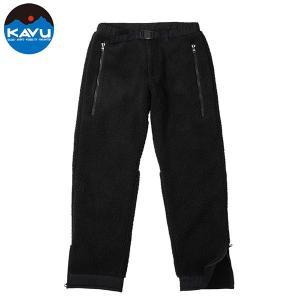 カブー KAVU メンズ ボアパンツ ブラック|aandfshop