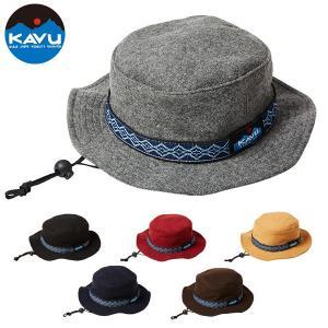 カブー KAVU バケットハット (ウール) ブラック 帽子 キャップ ハット|aandfshop