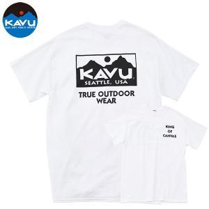 KAVU シンセティックストラップバケットハット